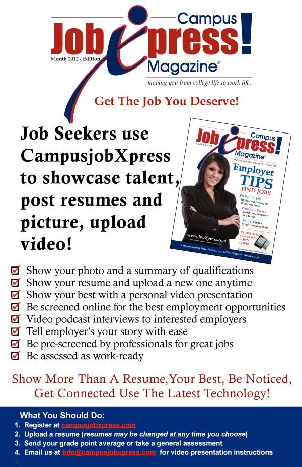 CJXP Job Seeker Handout