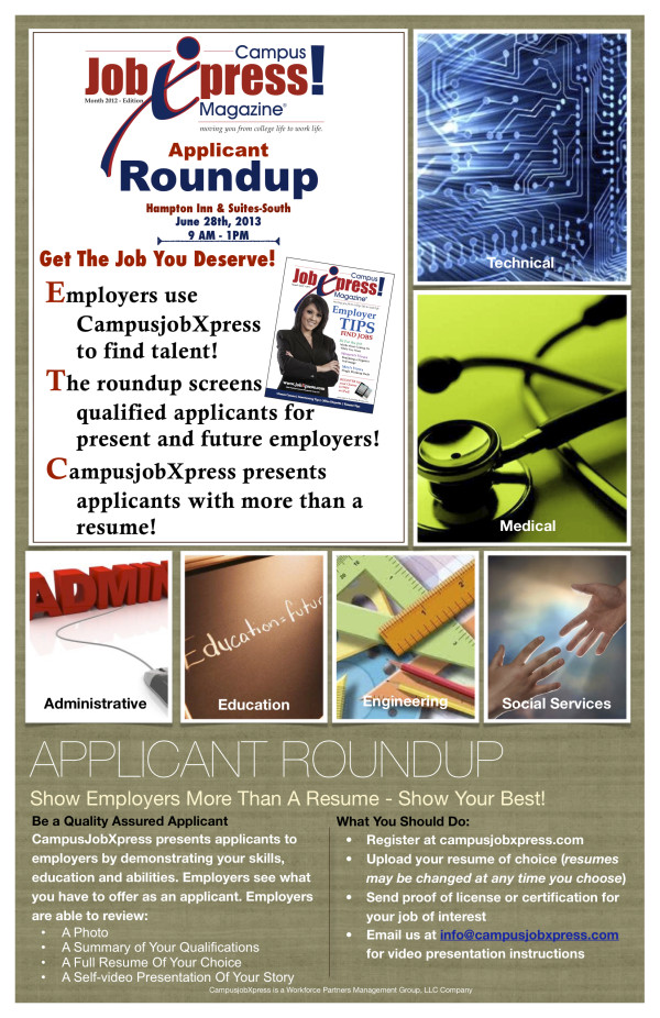 applicant roundup