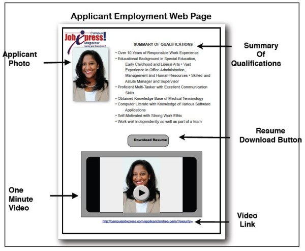 applicant-employment-web-page
